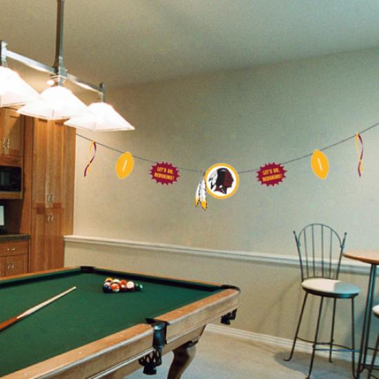 Washington Redskins Team Celebration Banner