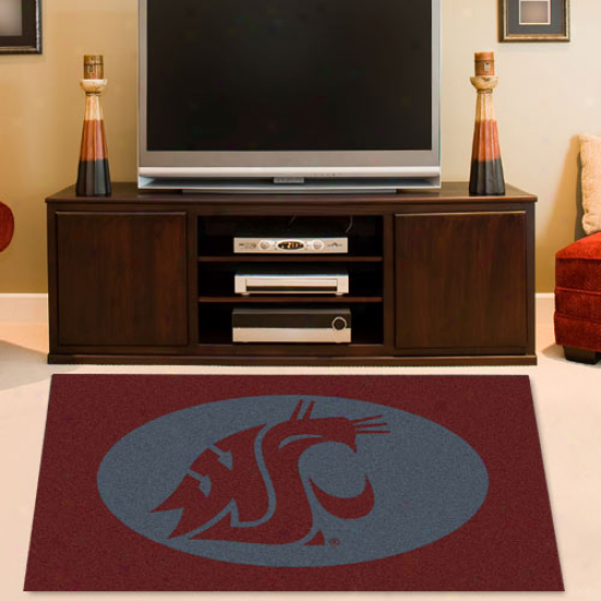 Washington Commonwealth Cougars 2'8'' X 3'10'' Collegiate Rug