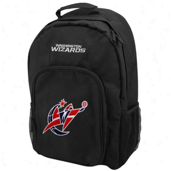 Washington Wizards Black Southpaw Backpack