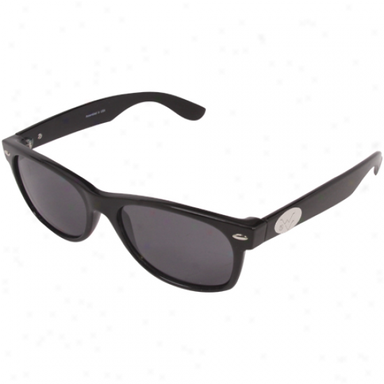 West Virginia Mountaineers Black-gray Eaton Sunglasses