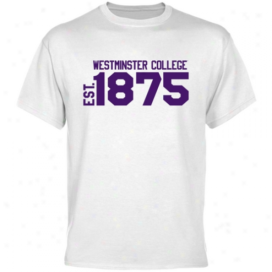 Westminster Griffins Whie Est. Date T-shirt