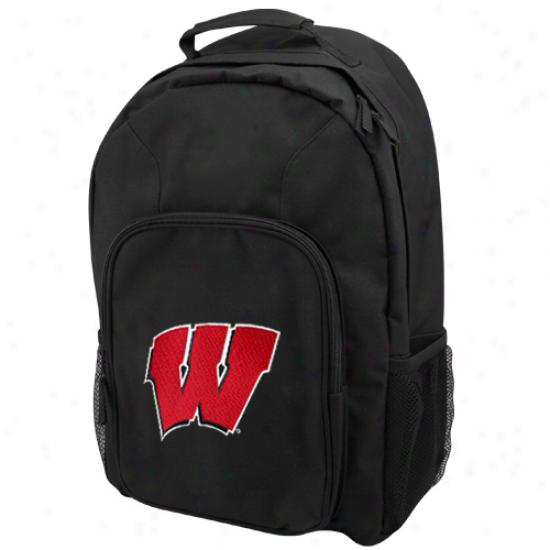 Wisconsin Badgers Blak Domestic Backpack