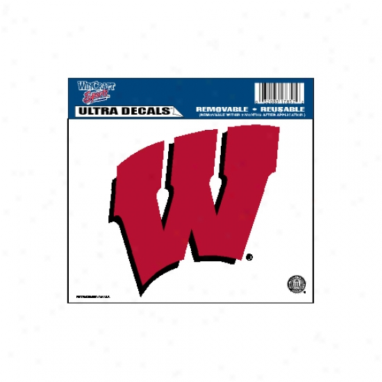 Wisclnsin Badgers Ultra Decal