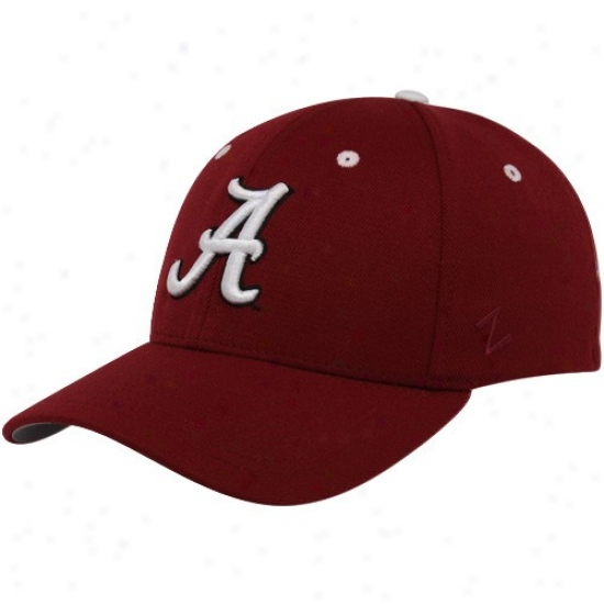 Gentle Alabama Crimson Tide Crimson Z-fit Hat