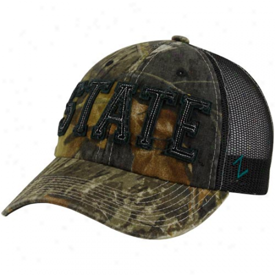 Zephyr Michigan State Spartans Mossy Oak Camo Decoy Adjustable Hat