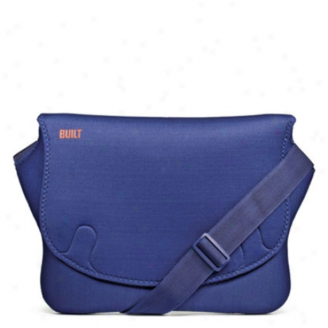 16 Inch Bowery Laptop Harbinger Bag By Built Ny - Ships of war Blue