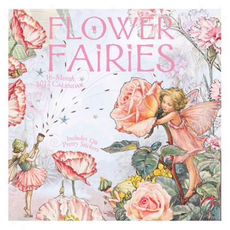 2012 Calendar - Flower Fairies Through  Graphique De France