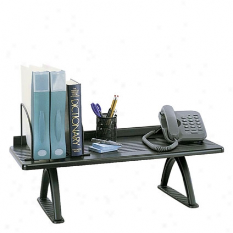 """30"""" Desk Riser By Safco - Black"""