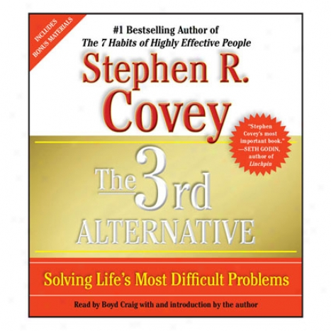 3rd Alternative Audio By Stephen R. Covey