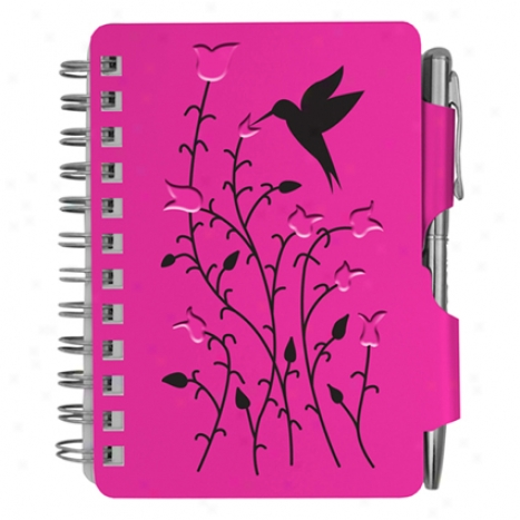 Address Book By Wellspring - Raspbrrry Hummingbird