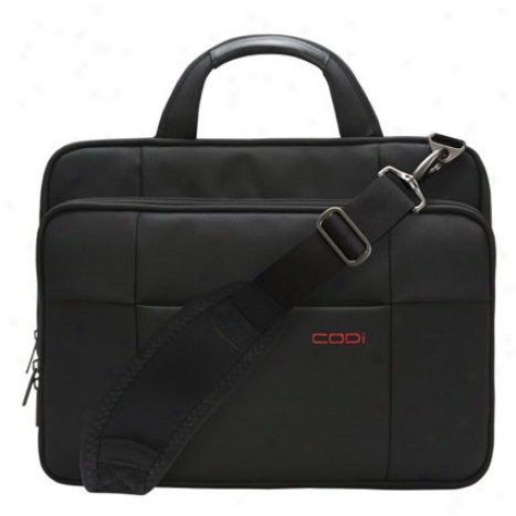 """ambassador Expandable 15.4"""" Laptop Bag - Black"""