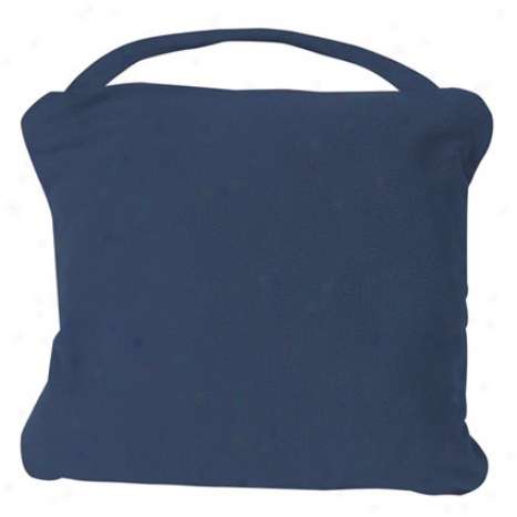 Anti-microbial Blanket -  Navy Fleece