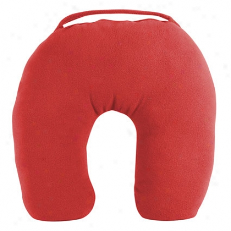 Anti-microbial Pillow -  Red Fleece
