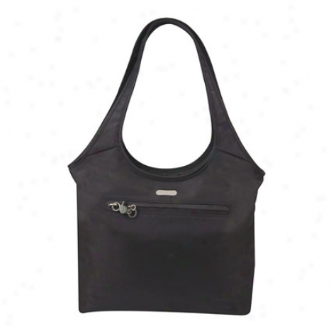 Anti-theft Shopper -  Black Nylon
