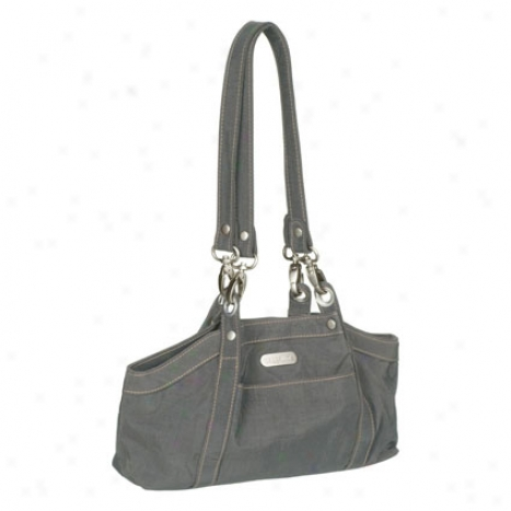 Baby Hampton Bagg By Baggallini - Pewter/mimosa