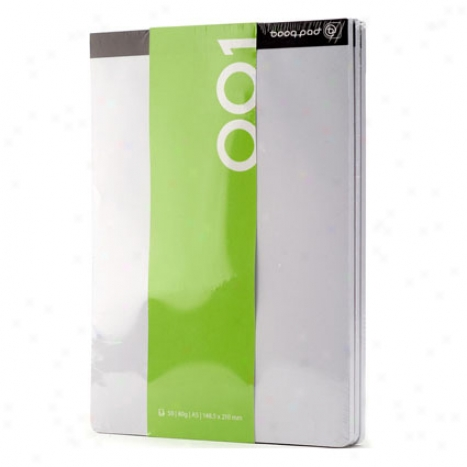 Blank Notepad 3-pack By Booq
