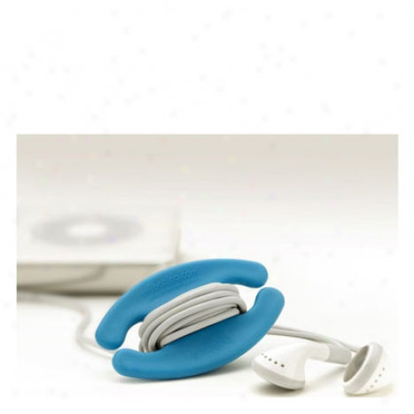Bobino Cable Buddy Small By Kikkerland - Blue