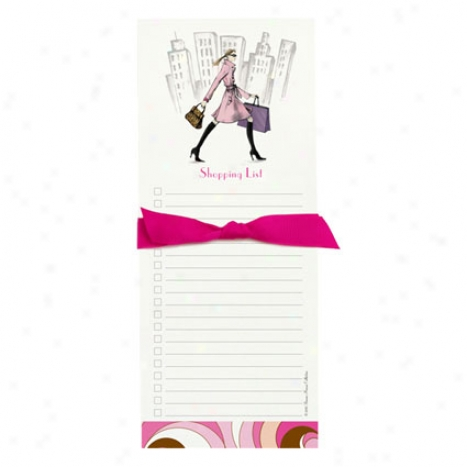 Bon Bon Notepad By Bonnie Marcus - Busy Bonnie Shopping List