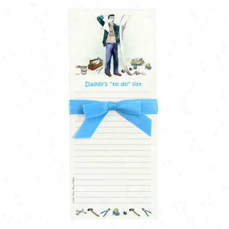 """bon Bon Notepad By Bonnie Marcus - Daddy's """"to Do"""" List"""