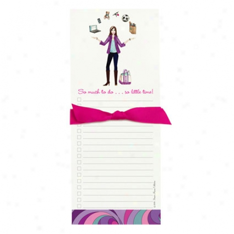 Bon Bon Notepad By Bonnie Marcus - Juggling Mom