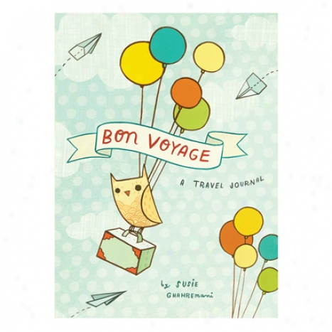 Bon Voyage Travel Journal By Chronicle Books
