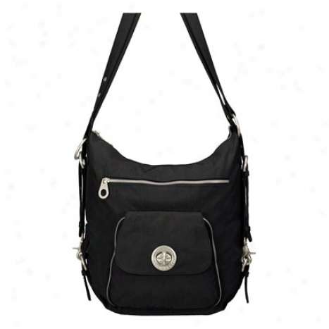 Brussels Bagg By Baggallini - Black/khaki