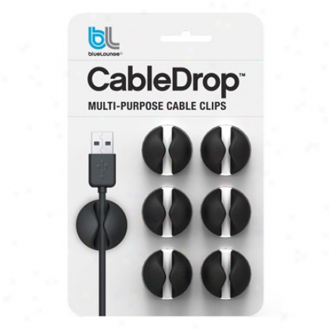 Cabledrop By Bluelounge - Black