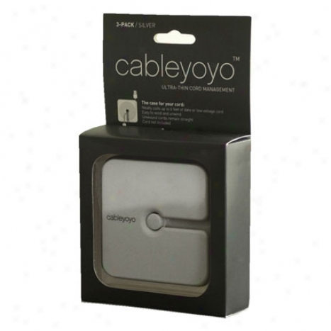 Cableyoyo 3 Pack - Silver