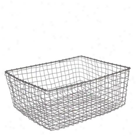Cabo Basket Rectangular By Design Ideas - Medium
