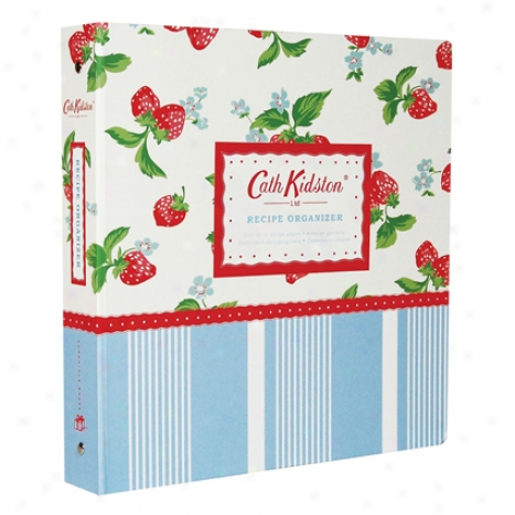 Cath Kidston Recipe Organizer By Chronicle Books