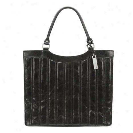 Chloe Laptop Bag - Black