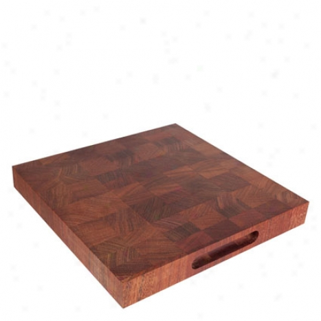 Chop Block Cutting Board By Americana Arttisans