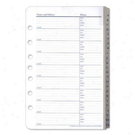 Clasisc Address/phone Tabs