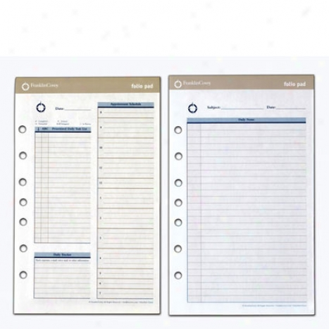 Classic Foliopad Two-page-per-day Refill - 2 Bundle
