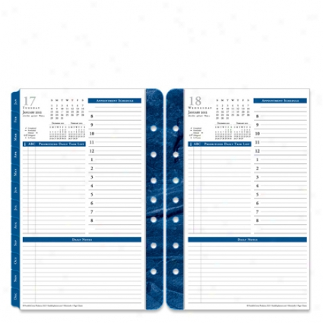 Classic Monticello One-page-per-day Ring-bound Planner Refill - Jan 2012 - Dec 2012