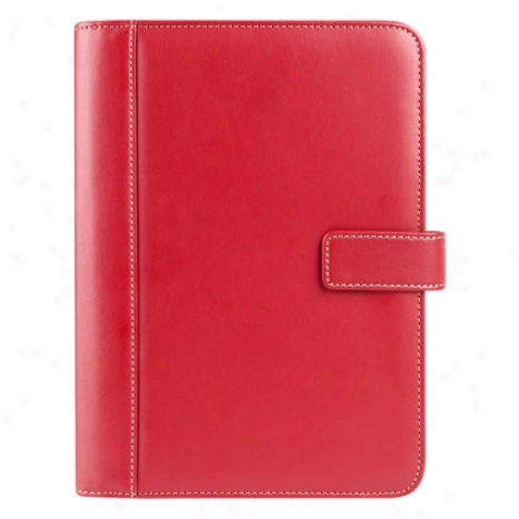 Classic Slim Wire-bound Cover - Red