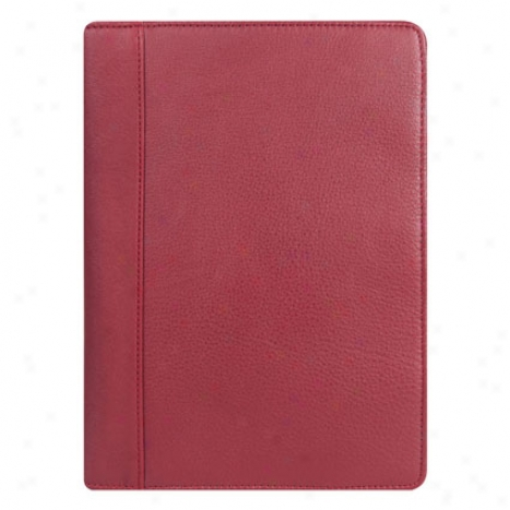 Classic Sterling Open Wirebound Cover - Red