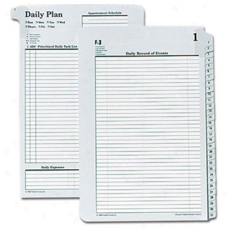 Classic Tabbed Source Daily Plans 1-31 (12 Pack)