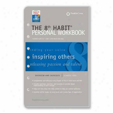 Elegant The 8th Habit Personal Workbook