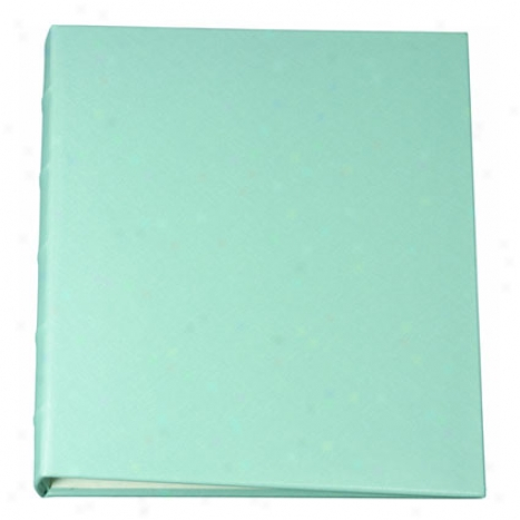 Clear-pocket Photo Albums Large Three-ring By Graphic Image - Aqua