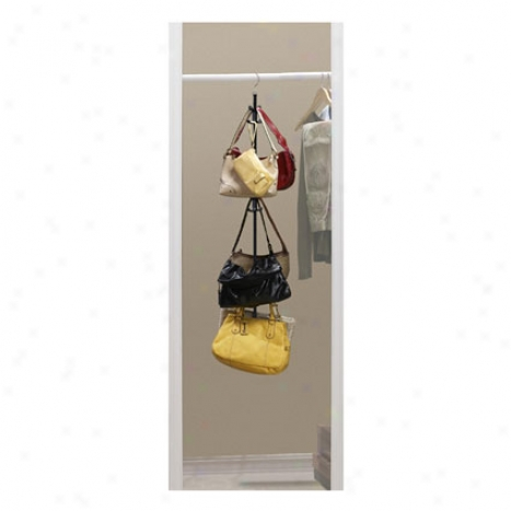 Closet Purse Rack By Jokari
