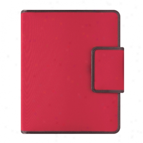 Compact Kayla Binder With Undated Sampler Refill - Red/brown
