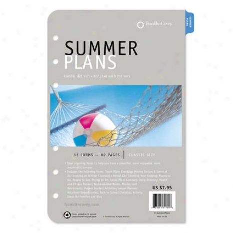 Compact Summer Plans Supplement