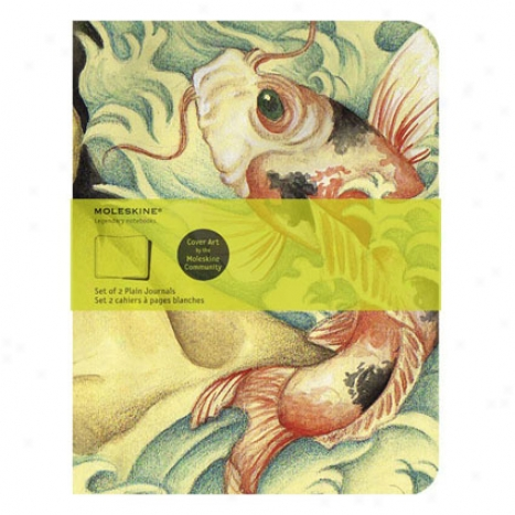 Screen Art Journal Plain By Moleskine - Fish
