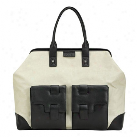 Doctors Bag By Bodhi - Sand/black