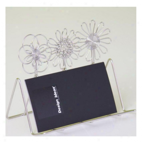 Doodles Business Card Holder By Design Ideas - Petals
