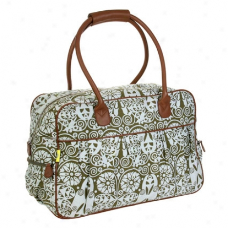 Dream Traveler Carry-on By Amy Butler - Temple Doors Tobacco
