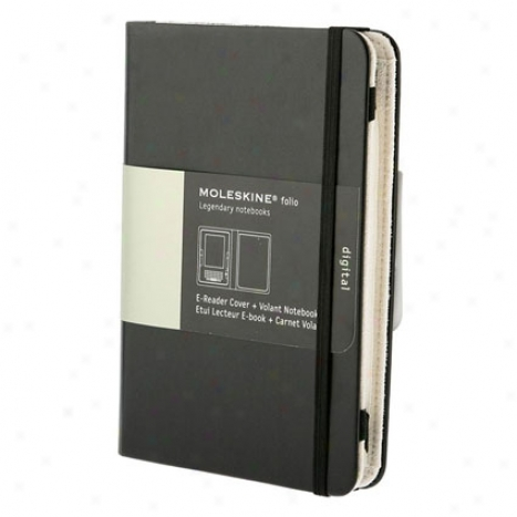 E-reader Cover & Volant Notebook From Moleskine - Black
