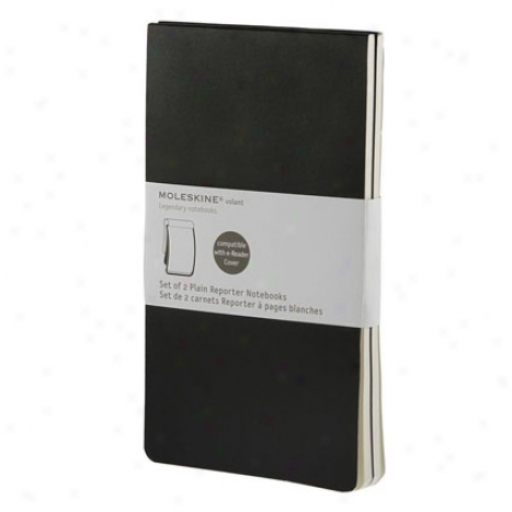 E-reader Notebook Refill Set Of 2 Plain By Moleskine