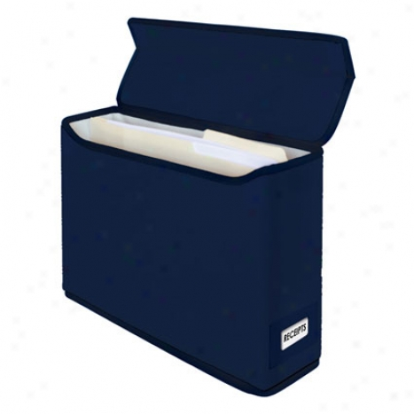 Easy Office File Box By Kangaroom - Navy